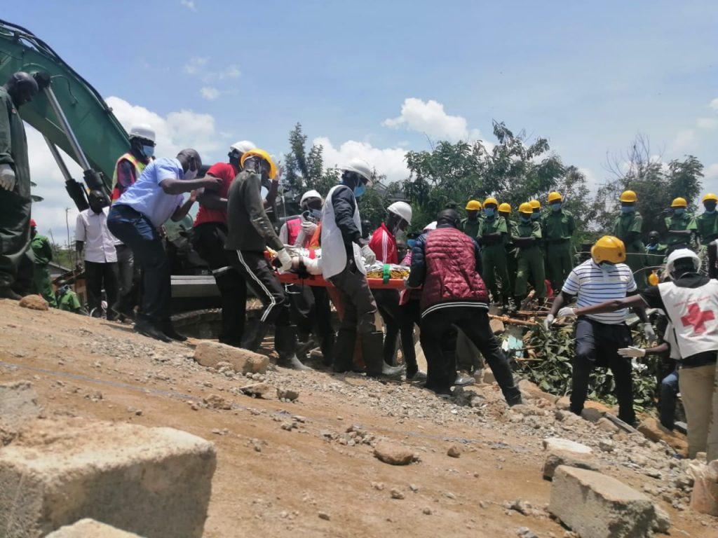 Kisumu building collapse